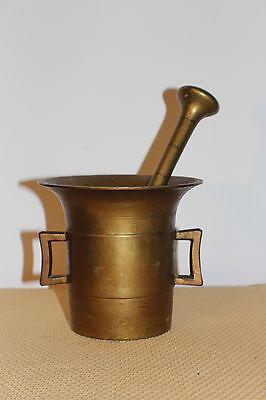 Mörser Schlegel Stössel antik Pistill Küche Pulver Deko Tabletten # 6251 3