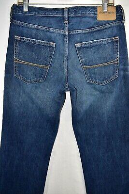 Abercrombie Fitch Kilburn Low Rise Boot Cut Boys Men Jeans Size 16 Meas 30x31 7