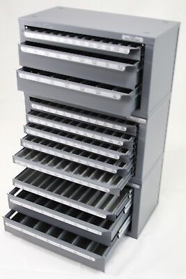 HUOT DRILL BIT DISPENSER CABINET 13000 ORGANIZER 13025 Fracational /& Number