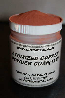 1 LB High Purity 99.3% Copper Powder Mesh -325   Heat/Thermal Paste, Faux Metal 9