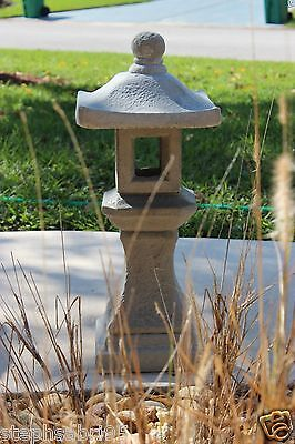 1 Of 8 Pagoda Oriental Concrete Lantern Japanese Garden Yard Cement Art  Stone Statue