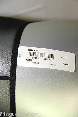 luxueux body résille black ERES loisir T. 40B (85B) NEUF/ÉTIQUETTE value 320€ 3