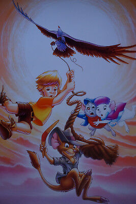Walt Disney/'s Alice The Peacemaker MOVIE POSTER 1924 24X36 VINTAGE CARTOON