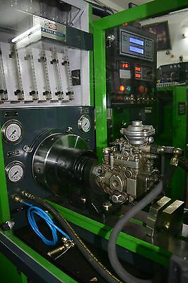 MULTIPURPOSE DIESEL INJECTOR Pump and Common Rail Test Bench - 6 Cylinders