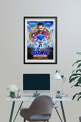 Sonic the Hedgehog 2020 Movie Poster - Official Art - High Quality Prints 4