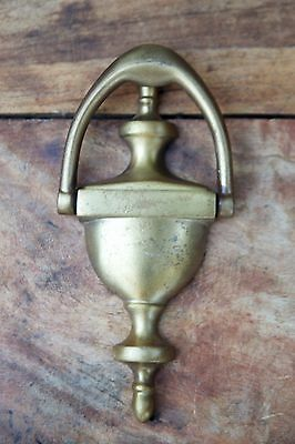 "Vintage Colonial Style Door Knocker 6 1/4"" Antique Brass 5"