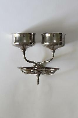 antique bathroom cup soap holder | art brass co vtg bath deco cup soap holder 2