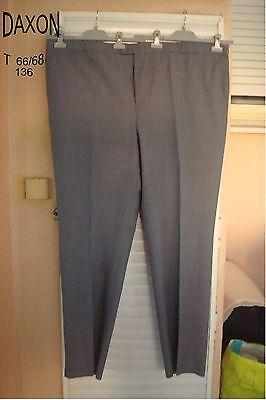 T Par Homme Daxon Marron Taille Pantalon Habille Neuf Reglable Rail 4446 Marque rdxBeCo