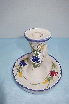 St Clement FRANCE Hand Painted - Kerzenständer, Keramik  Handmalerei