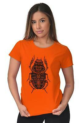 Ancient Egyptian Scarab Beetle Shirt Spirit Animal Cool Gift Womens T Shirt 5