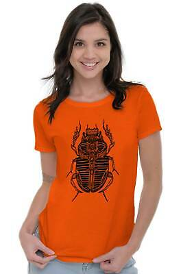 Ancient Egyptian Scarab Beetle Shirt Spirit Animal Cool Gift Womens T Shirt 4
