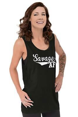 Savage AF Funny Athletic Sports Attitude Gym Short Sleeve T-Shirt Tees Tshirts
