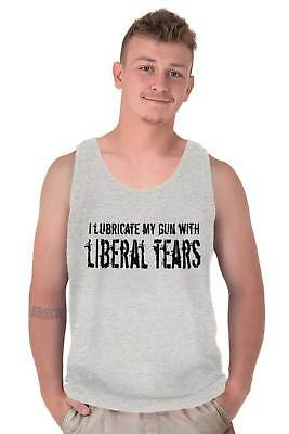 I Put Liberal Tears on My Cereal Tank Top Trump Pence 2020 MAGA Sleeveless