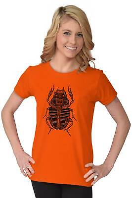 Ancient Egyptian Scarab Beetle Shirt Spirit Animal Cool Gift Womens T Shirt 6