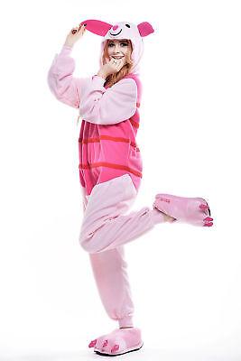 Unisex Adult Winnie The Pooh Flannel Onesie11 Cosplay Costume Kigurumi PajamasUK