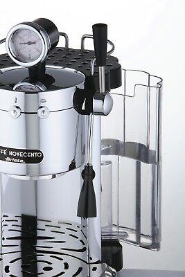 ARIETE 1387 CAFFE NOVECENTO Macchina Caffè Espresso Cromata Interamente Metallo 3