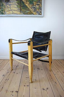 Danish Mid-Century Safari Chair