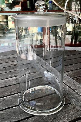 Präparateglas / Gewürz- / Nudelglas mit eingeschliffenem Kugelknopfdeckel - ALT2