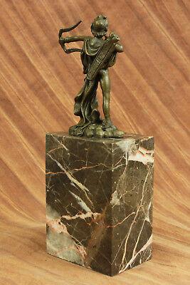 Apollo Dios de Bronce Libro Escultura Figura Figura Lost Cera Método Venta 6