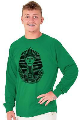 Ancient Egyptian Pharaoh Shirt   Mystic Scarab Symbol Tarot Long Sleeve Tee 4