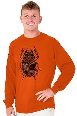 Ancient Egyptian Scarab Beetle Shirt Spirit Animal Cool Gift Long Sleeve Tee 6