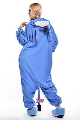 Unisex Adult Winnie The Pooh Flannel Onesie11 Cosplay Costume Kigurumi Pajamas* 12