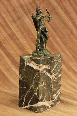 Apollo Dios de Bronce Libro Escultura Figura Figura Lost Cera Método Venta 8