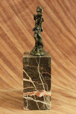 Apollo Dios de Bronce Libro Escultura Figura Figura Lost Cera Método Venta 3