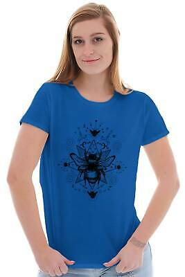 Spirit Animal Bee Honeybee Garden Spiritual Meaning Gift Baseball T-Shirt Tee