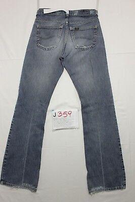 Lee Denver (Cod.J359) Tg.42 W28 L34 jeans usato bootcut zampa vintage. 2