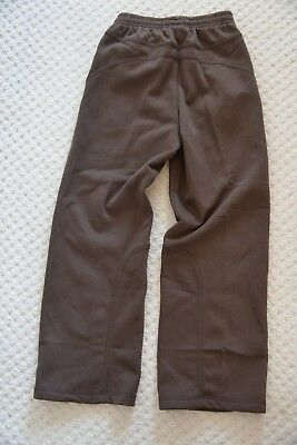 New Puma Shift 552491-01 Unisex Track Bottom Sweat Pants Chocolate Brown 9-10 Yr 5