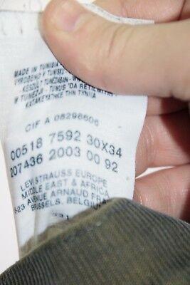 Levis 518 (Cod. D1464) Tg.44  W30 L34  jeans usato bootcut vintage 3
