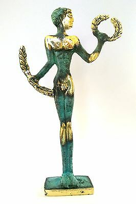 Ancient Greek Bronze Museum Statue Replica Of Olympic Games Winner Collectable 2
