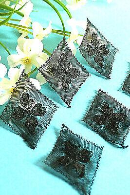 "752B Splendid Delicate Inlay Lace Tapered Thread Silk "" Jasmine "" Art New 3"