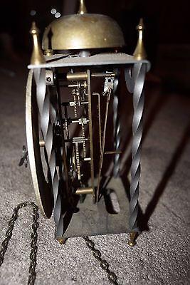 Tempus Fugit 8 Day Clock West Germany Weight-Driven Pendulum Brass Plates 6/3620 10