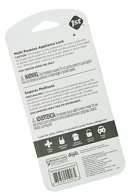 Safety 1st Multi-Purpose Appliance Lock Decor, 2-Count (Packaging May Vary) 2