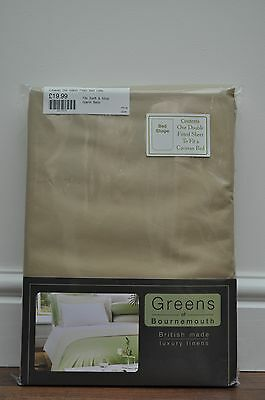 Swift caravan Island bed Poly//Cotton luxury Percale  Fitted Sheet Double pink