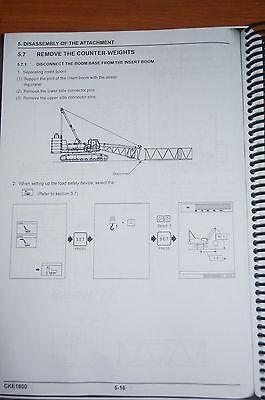 Kobelco Operation & Maintenance Manual CKE1800 3
