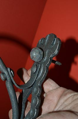 Wrought Iron,Elegant Shepards Scroll Wall Hook, Hanger,with Ball Screws 4