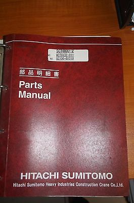 Hitachi Sumitomo SC1000-2 Parts Manual 11