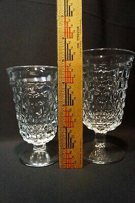 Fostoria Elegant American No. 2056 Cubist Glassware 3