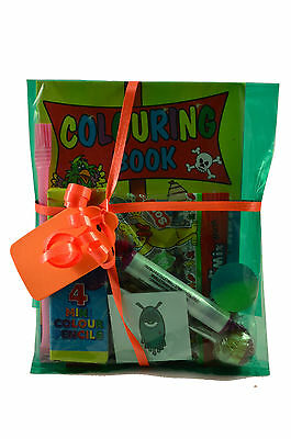 Childrens Pre Filled Party Parcels Bags, Kids Birthday, Wedding Favors Rewards 2