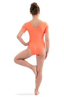 39dfe9797b ... Damen Body mit kurzen Ärmeln Kurzarm-Body stretch shiny glänzend  elastisch S-XXL 3