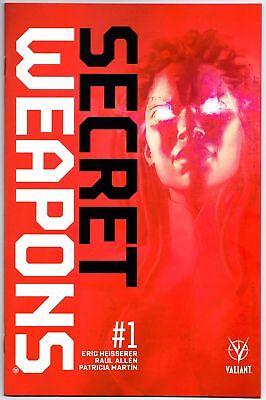 Secret Weapons #1 Regular Secret Code Edition + Exclusive Print Valiant Vei Nm