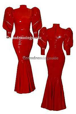 Crossdressingmode Humpelkleid  Lycra Lack Latex nach Mass