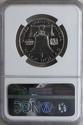 1961 Silver Proof Franklin Half Dollar Coin Fifty Cent US Coin NGC PF66 50c #R 3