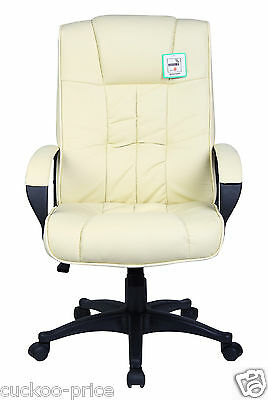 New Swivel Executive Office Furniture Computer Desk Office Chair in PU Leather 8