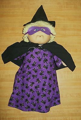 """PINK FAIRY HALLOWEEN DRESS SLIPPERS MASK WINGS  for 16/"""" CPK Cabbage Patch"""