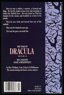 Tomb of Dracula #2 Day of Blood Night of Redemption TPB 1991 NM Epic