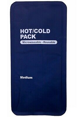Hot Cold Gel Pack Reusable Microwaveable Freezer Ice Pain Relief First Aid 4